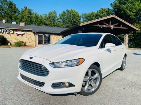 2015 Ford Fusion for sale at Classic Luxury Motors in Buford GA