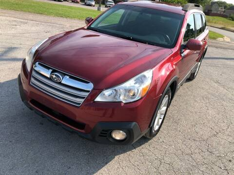 2014 Subaru Outback for sale at Supreme Auto Gallery LLC in Kansas City MO