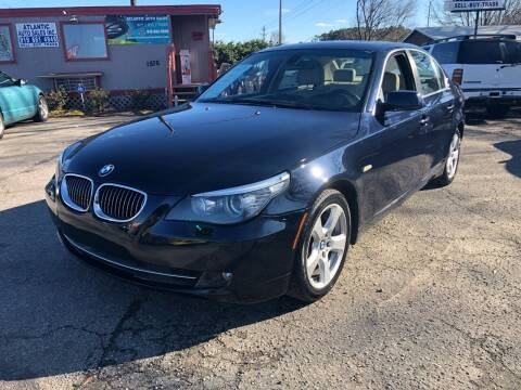 2008 BMW 5 Series for sale at Atlantic Auto Sales in Garner NC