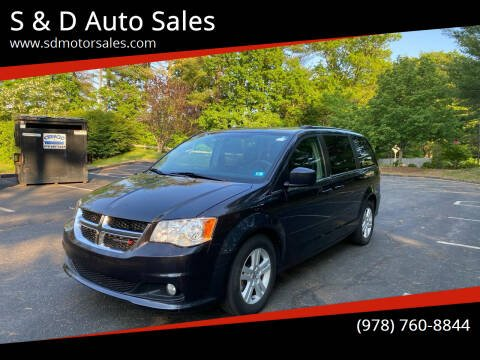 2013 Dodge Grand Caravan for sale at S & D Auto Sales in Maynard MA