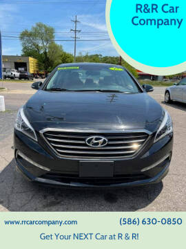 2015 Hyundai Sonata for sale at R&R Car Company in Mount Clemens MI