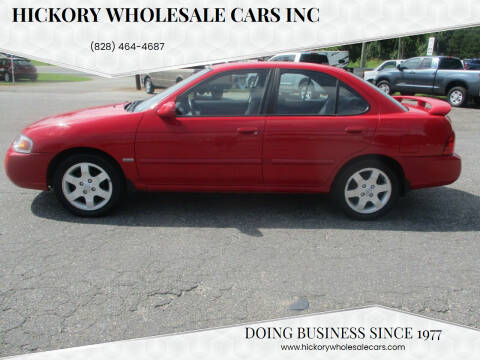 2005 Nissan Sentra for sale at Hickory Wholesale Cars Inc in Newton NC