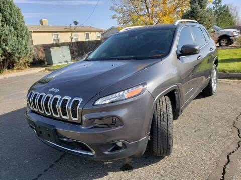 2016 Jeep Cherokee for sale at Lifetime Auto LLC in Commerce City CO
