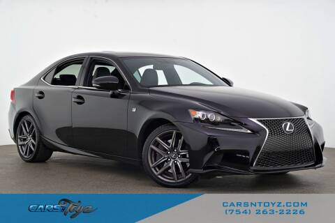 2016 Lexus IS 350 for sale at JumboAutoGroup.com - Carsntoyz.com in Hollywood FL