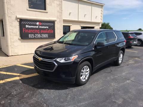 2019 Chevrolet Traverse for sale at Diamond Motors in Pecatonica IL