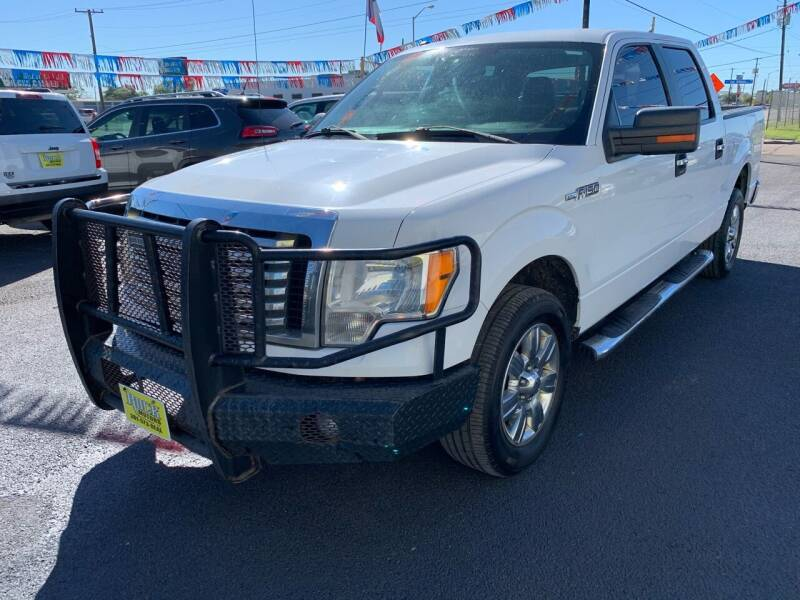 2012 Ford F-150 for sale at Rock Motors LLC in Victoria TX