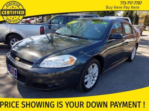 2013 Chevrolet Impala for sale at AutoBank in Chicago IL