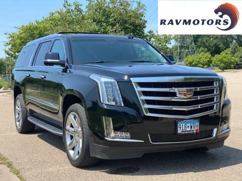 2017 Cadillac Escalade ESV for sale at RAVMOTORS in Burnsville MN