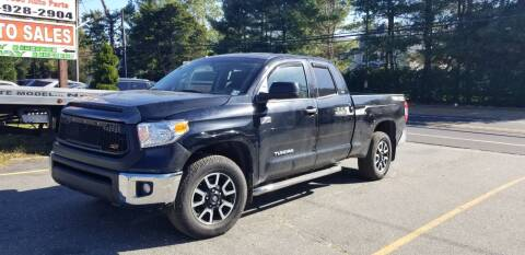 2017 Toyota Tundra for sale at Central Jersey Auto Trading in Jackson NJ