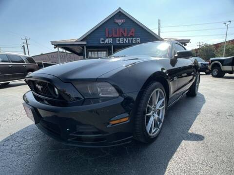 2014 Ford Mustang for sale at LUNA CAR CENTER in San Antonio TX