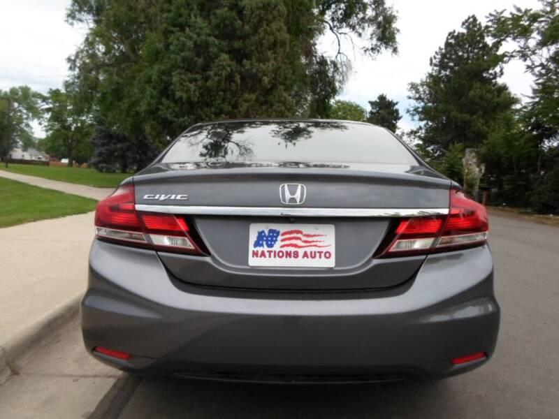 2015 Honda Civic LX 4dr Sedan CVT - Lakewood CO