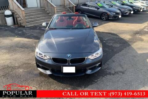 2015 BMW 4 Series for sale at Popular Auto Mall Inc in Newark NJ