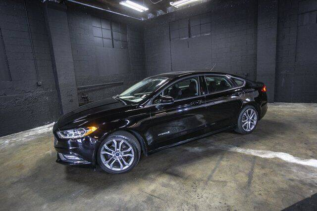 2017 Ford Fusion Hybrid for sale in Tacoma, WA