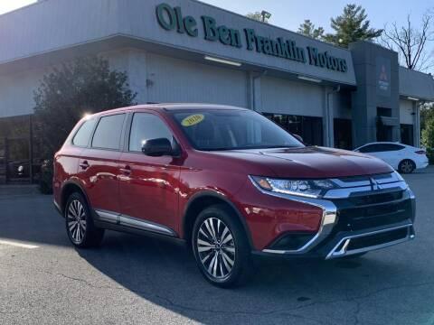 2020 Mitsubishi Outlander for sale at Ole Ben Franklin Mitsbishi in Oak Ridge TN