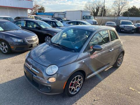 2012 FIAT 500 for sale at Premium Auto Brokers in Virginia Beach VA