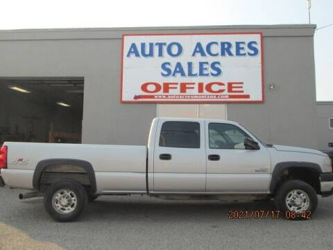 2006 Chevrolet Silverado 2500HD for sale at Auto Acres in Billings MT