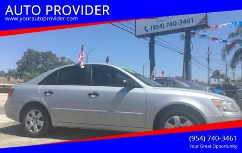 2010 Hyundai Sonata for sale at AUTO PROVIDER in Fort Lauderdale FL