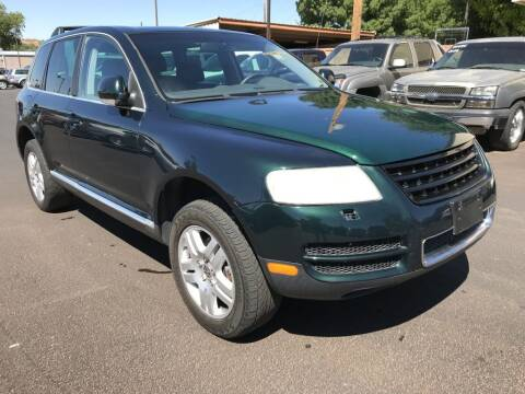 2006 Volkswagen Touareg for sale at Robert Judd Auto Sales in Washington UT