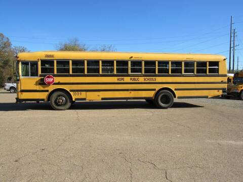 1998 Thomas Built Buses School Bus for sale at M & W MOTOR COMPANY in Hope AR