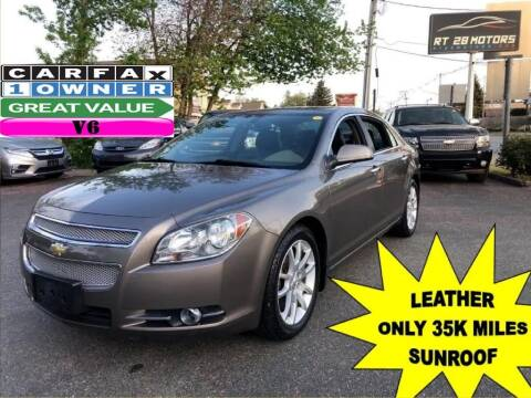 2011 Chevrolet Malibu for sale at RT28 Motors in North Reading MA