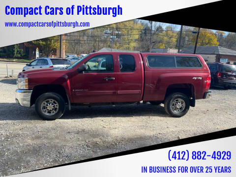 2007 Chevrolet Silverado 2500HD for sale at Compact Cars of Pittsburgh in Pittsburgh PA