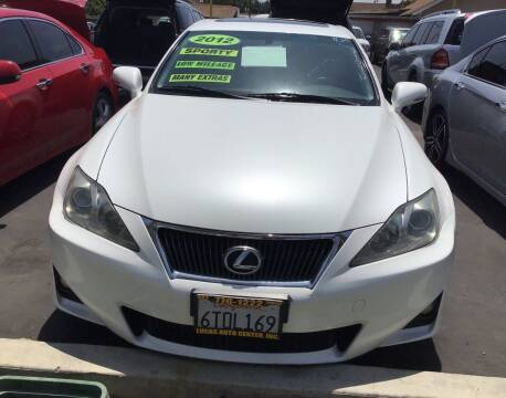 2012 Lexus IS 250 for sale at Lucas Auto Center in South Gate CA