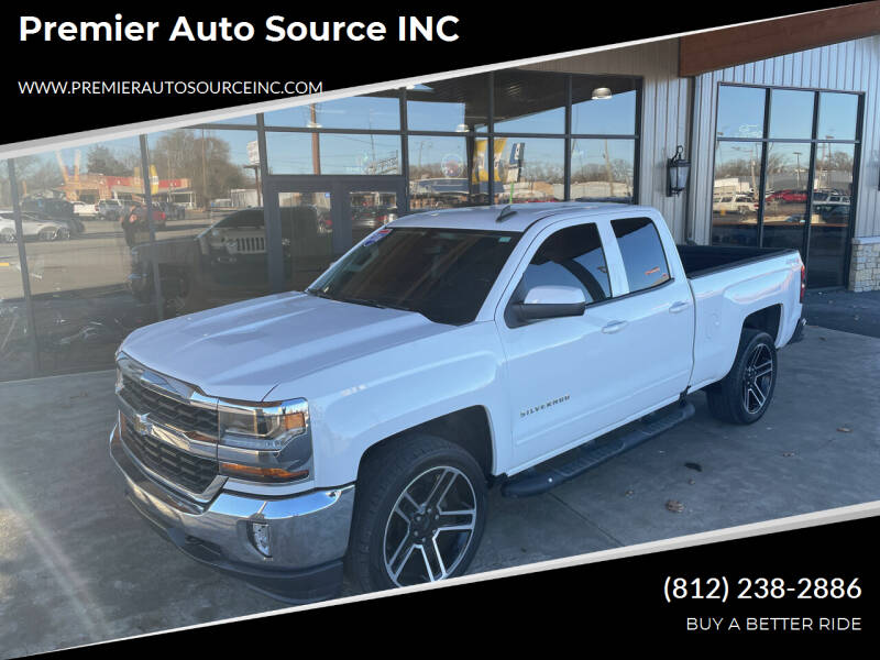 2016 Chevrolet Silverado 1500 for sale at Premier Auto Source INC in Terre Haute IN