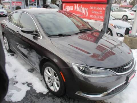 2015 Chrysler 200 for sale at GENOA MOTORS INC in Genoa IL