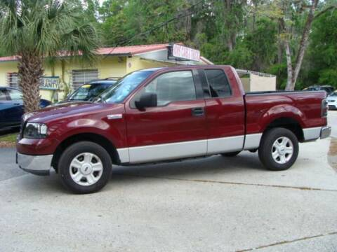 2004 Ford F-150 for sale at VANS CARS AND TRUCKS in Brooksville FL