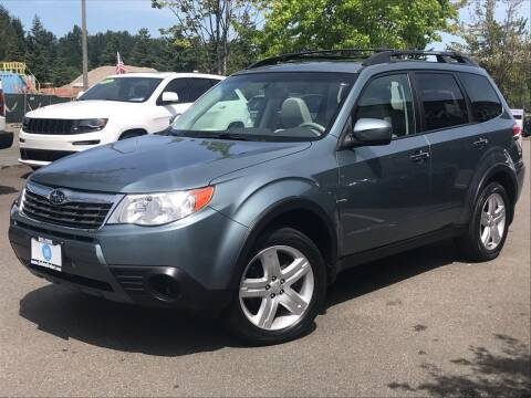 2010 Subaru Forester for sale at GO AUTO BROKERS in Bellevue WA