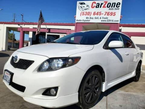 2010 Toyota Corolla for sale at CarZone in Marysville CA