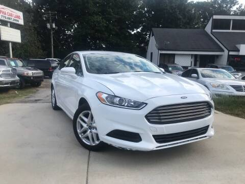 2013 Ford Fusion for sale at Alpha Car Land LLC in Snellville GA