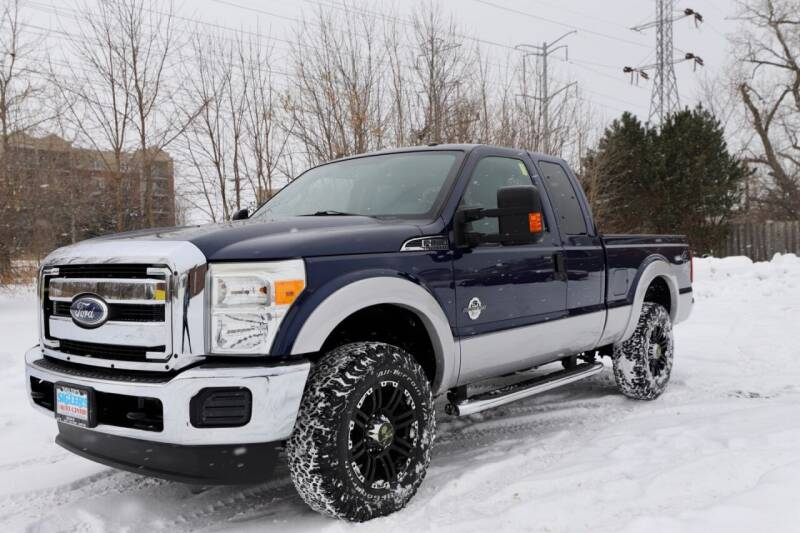 2011 Ford F-250 Super Duty for sale at Siglers Auto Center in Skokie IL