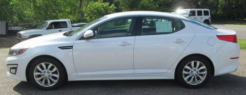 2015 Kia Optima for sale at The AUTOHAUS LLC in Tomahawk WI