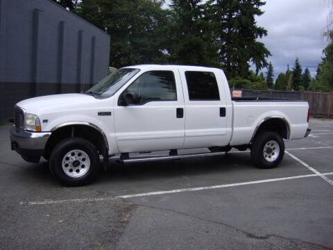 2004 Ford F-250 Super Duty for sale at Western Auto Brokers in Lynnwood WA