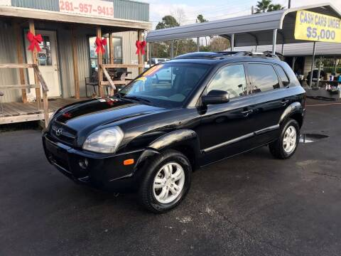 2007 Hyundai Tucson for sale at Texas 1 Auto Finance in Kemah TX