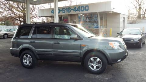 2007 Honda Pilot for sale at Elite Auto Sales in Willowick OH