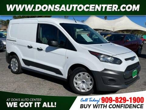 2017 Ford Transit Connect Cargo for sale at Dons Auto Center in Fontana CA