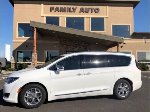 2017 Chrysler Pacifica for sale at Moses Lake Family Auto Center in Moses Lake WA