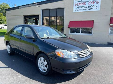 2004 Toyota Corolla for sale at I-Deal Cars LLC in York PA