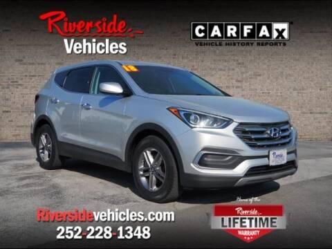 2018 Hyundai Santa Fe Sport for sale at Riverside Mitsubishi(New Bern Auto Mart) in New Bern NC