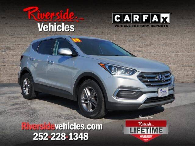 2018 Hyundai Santa Fe Sport for sale at Riverside Mitsubishi(New Bern Auto Mart) in New Bern NC