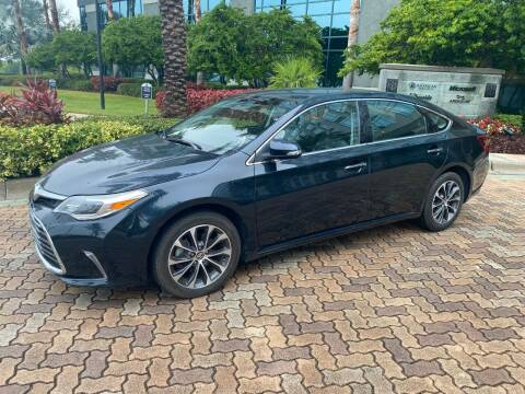 2018 Toyota Avalon for sale at CYBER CAR STORE in Tampa FL