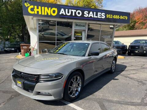 2017 Dodge Charger for sale at Chinos Auto Sales in Crystal MN