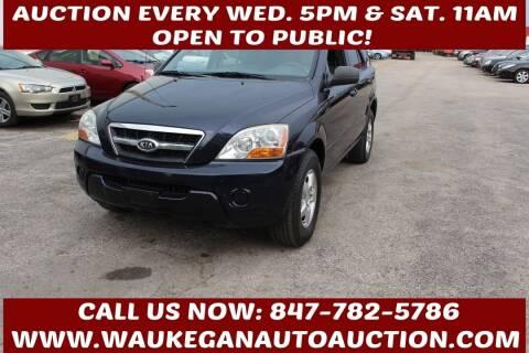 2009 Kia Sorento for sale at Waukegan Auto Auction in Waukegan IL