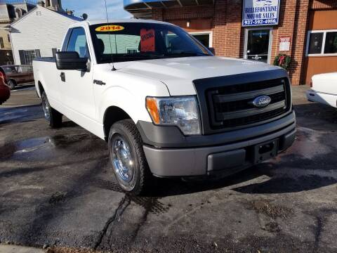 2014 Ford F-150 for sale at BELLEFONTAINE MOTOR SALES in Bellefontaine OH