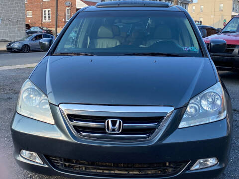 2006 Honda Odyssey for sale at Centre City Imports Inc in Reading PA