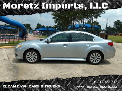 2012 Subaru Legacy for sale at Moretz Imports, LLC in Spring TX