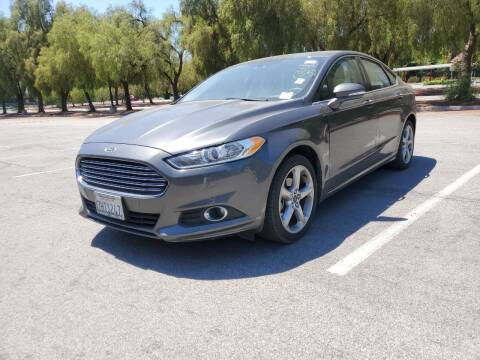 2015 Ford Fusion for sale at ALL CREDIT AUTO SALES in San Jose CA