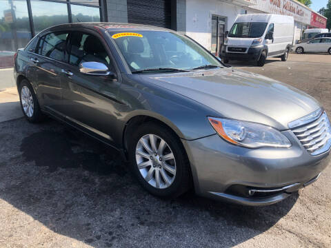 2013 Chrysler 200 for sale at TEAM AUTO SALES in Atlanta GA